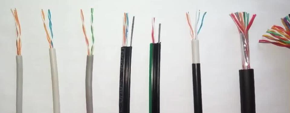 Телефонный кабель для наружной и внутренней прокладки